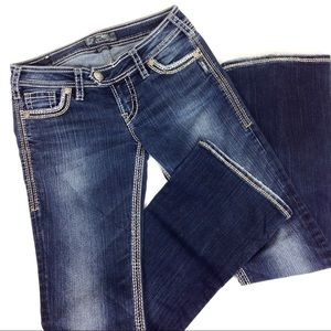 Silver Jeans Tuesday Surplus Bootcut 27x33